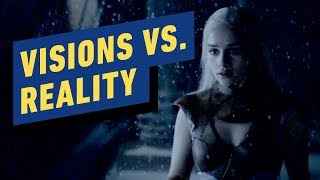 Game of Thrones: Comparing Daenerys' Iron Throne Vision to Reality