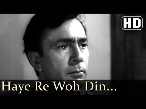 Haye Re Woh Din - Balraj Sahni - Leela Naidu - Anuradha Songs - Lata Mangeshkar