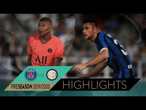 PSG 1-1 INTER (6-7 pen) | HIGHLIGHTS | 2019 International Super Cup in Macao