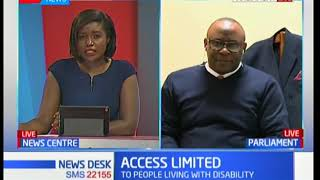 DISABILITY SUMMIT: Kenyan MPs decry of inconsiderate building structures in Kenya