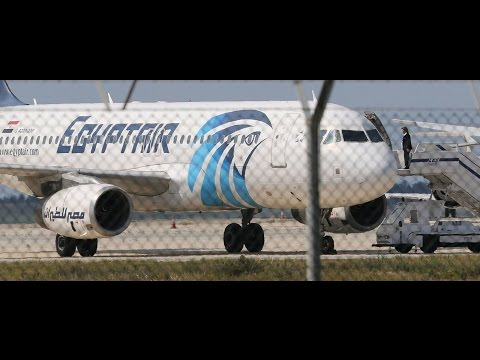 Hijacked EgyptAir Plane Lands in Cyprus [BREAKING NEWS]