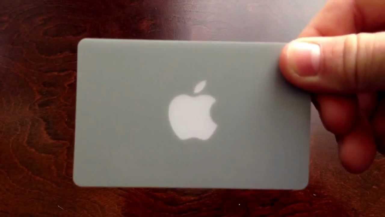 Apple gift card  YouTube