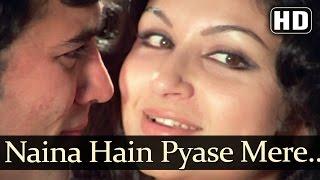 Naina hain pyaase mere - rajesh khanna - sharmila tagore - asha bhosle - avishkaar - old love songs