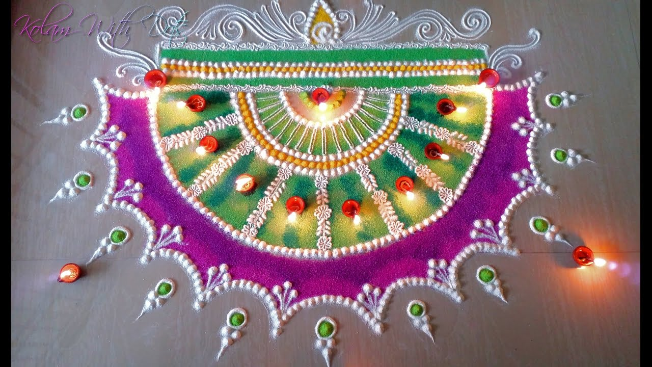 Image result for Diwali festival rangoli ideas