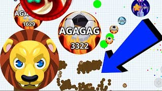 Agar.io Solo Funny Moments Wins/ Fails Compilation Agar.io Mobile Gameplay