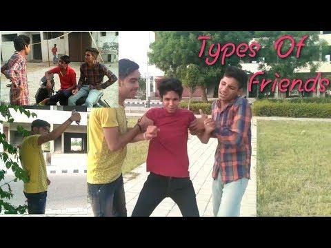 Types of friends / hr idiots/ ft hr fukrey