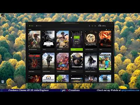 How To Download And Use GeForce Experience (UPDATED 2017)