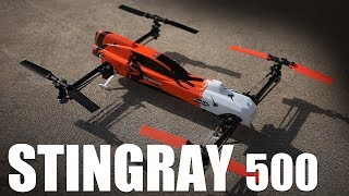 flite test stingray 500 overview