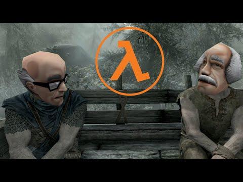The Elder Scrolls 5: Skyrim with Half-Life SFX