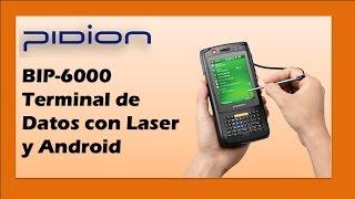 Pidion BIP-6000 Terminal de Datos con Lector Laser y Android screenshot 4
