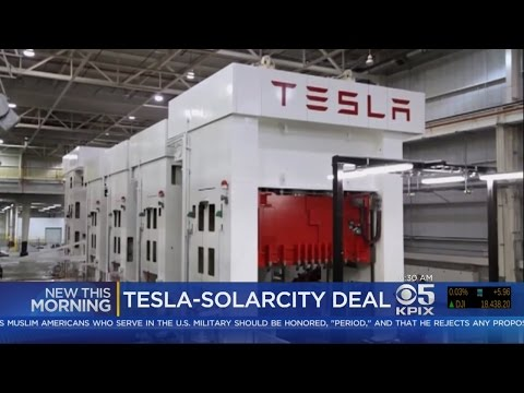 Tesla Buying SolarCity In $2.6 Billion Deal