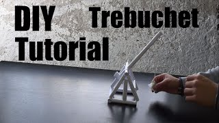 How To Make a Paper Trebuchet