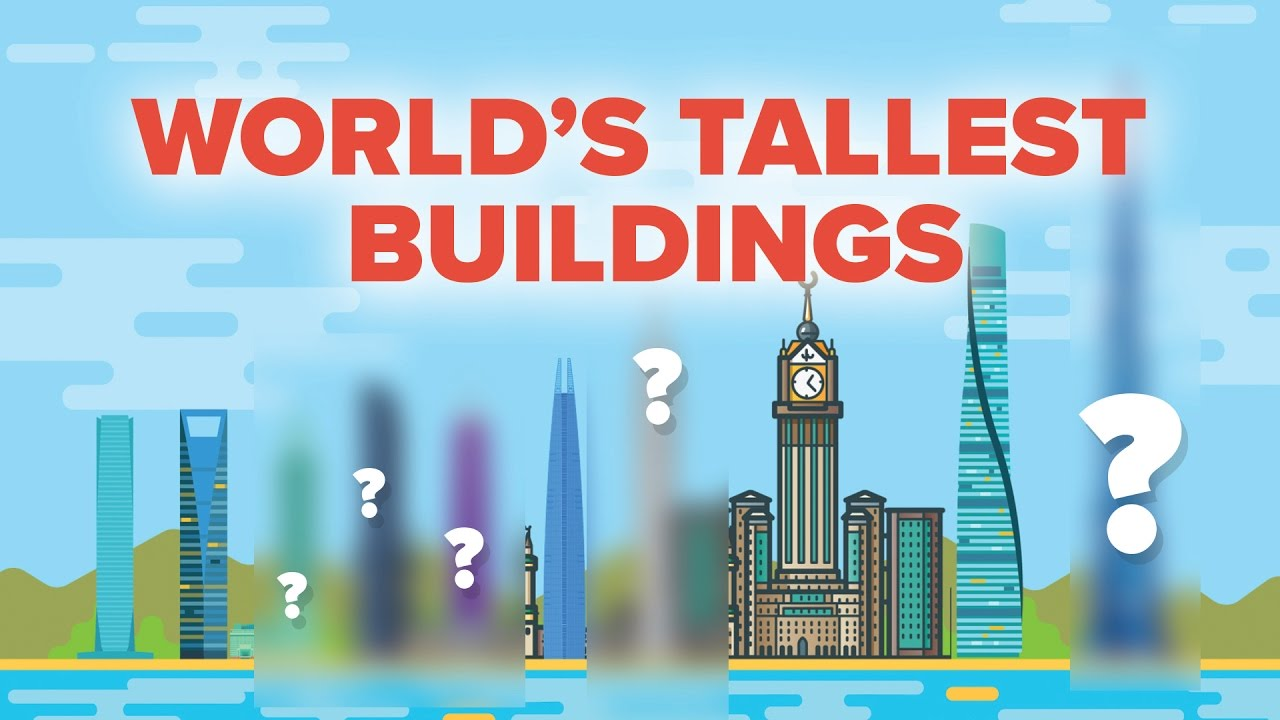 These Are The Worlds Tallest Buildings - How High Do They Go?