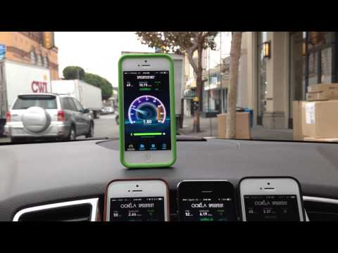iPhone 5s 4G LTE Speed Test: AT&T vs Sprint vs T-Mobile vs Verizon