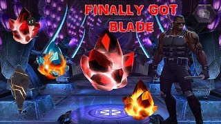 MARVEL CONTEST OF CHAMPIONS: Finally Got Blade | Crystals Opening Over 100 Crystals In Total
