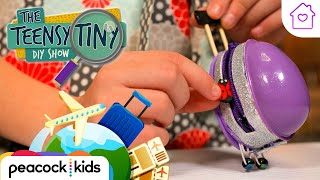 DIY Mini Suitcase | Kids Crafts at Home | TEENSY TINY DIY SHOW #stayhome #withme