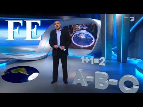 Flat Earth Conference Media 10 - German TV - Flache Erde - Mark Sargent ✅