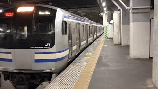 E217系クラY-50編成千葉発車