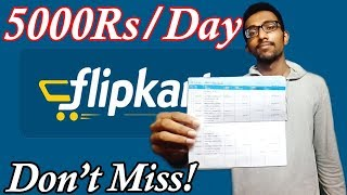How to earn lakhs of money from Flipkart,Amazon without selling any products Earn money online India thumbnail
