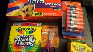 АМЕРИКА Покупка канцтоваров к школе, что необходимо для первоклашки и семиклассника(, 2015-09-02T03:53:29.000Z)