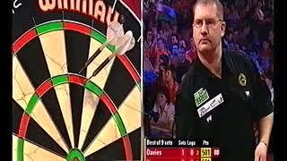 King vs Davies Darts World Championship 2004 Quarter Final