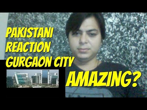 First impression on Gurgaon city 2017 | Pakistani reaction |