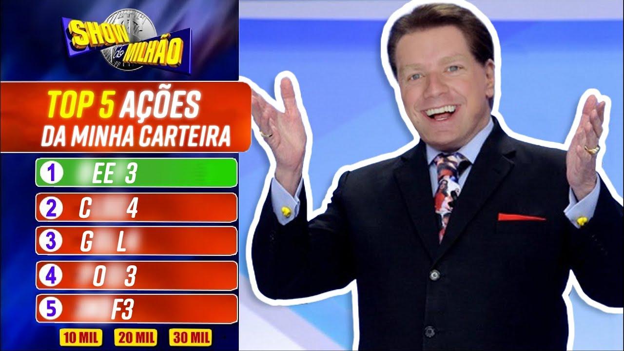 Top 5 AÇÕES da MINHA CARTEIRA
