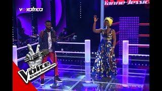 Yann Jessica vs The Brain ' Elanga Ya Muinda ' de Lokua Kanza  Les Battles   The Voice Afrique 2017