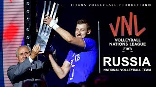 Russia National Volleyball Team | Unbelievable Moments | VNL - 2018