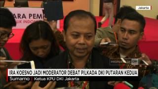 Video Ira Koesno Jadi Moderator Debat Pilkada DKI Putaran Kedua download MP3, 3GP, MP4, WEBM, AVI, FLV Desember 2017