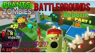 Random Videos #21 | Roblox: Plants vs. Zombies Battlegrounds - Developer Report | Part 2
