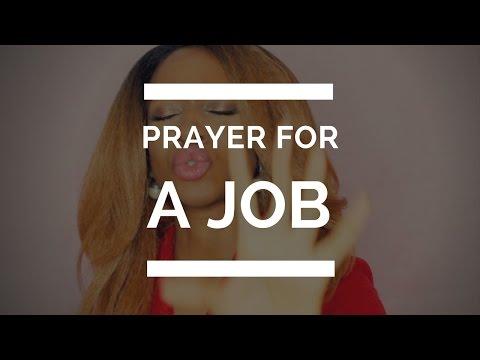 PRAYER FOR A JOB