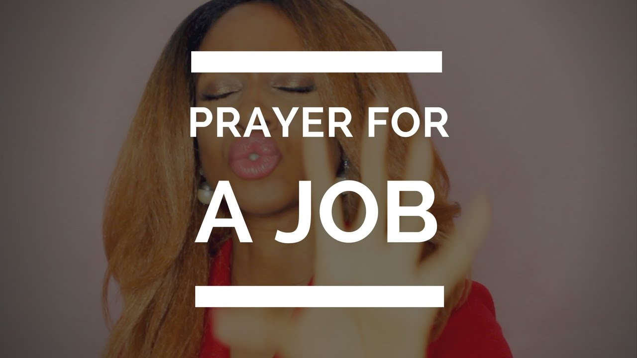 Prayer for favor at job interview