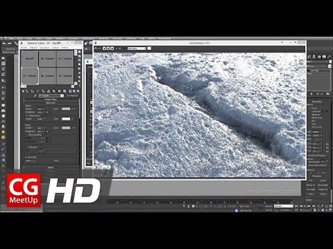 Creating Realistic Snow In 3ds Max & IRAY | CGI 3D Tutorial HD | CGMeetup