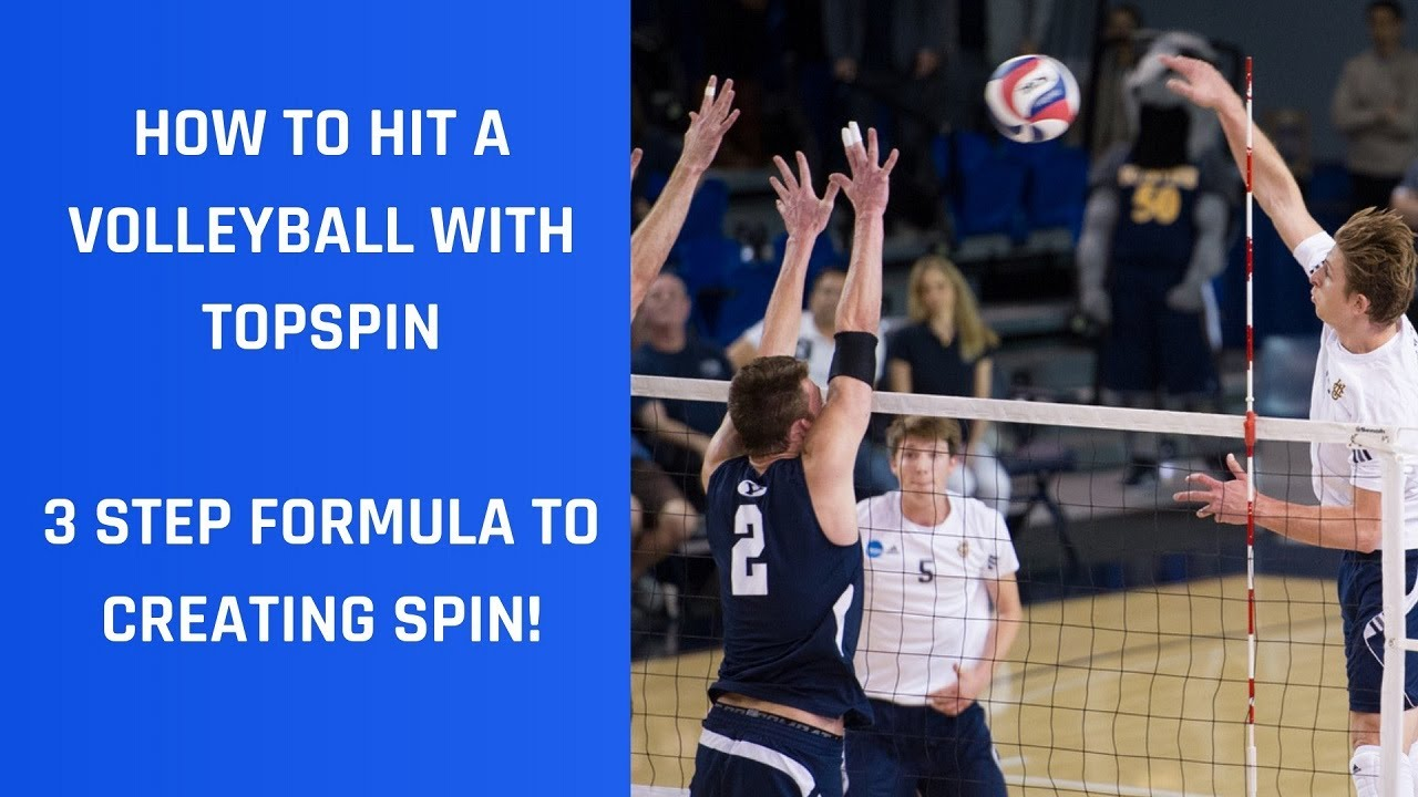 Topspin Volleyball Training For Spiking