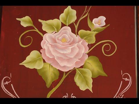 Pinceladas Tutorial como pintar flores al oleo y