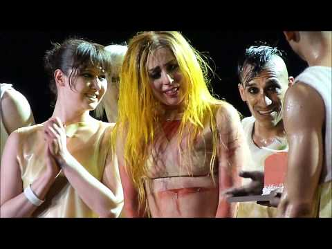 Lady Gaga 25th birthday celebrated at Staples Center - Los Angeles 3/28/2011 Happy Birthday