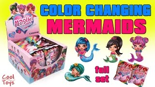 MAGIKI MERMAIDS Color Changing Full Set Unboxing & GIVEAWAY - CoolToys