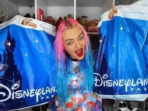 Massive DisneyLand Paris Haul   Sep 16