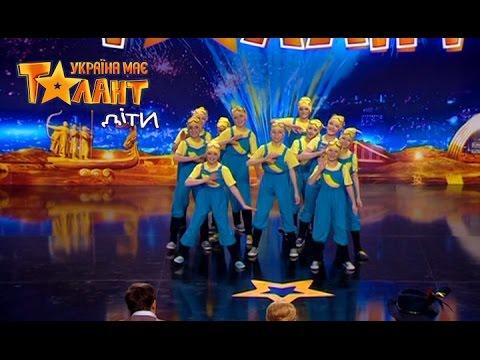 Children in fun minion's costumes dance - Got Talent 2017