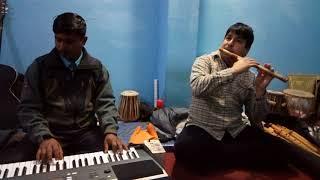Aur ahista gajal by pankaj udas on flute feat keybord