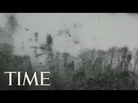 Avalanche Hits Hotel In Central Italy, Many Feared Dead | TIME