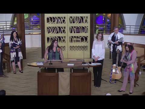 Friday Evening Shabbat at Temple Beth Sholom with farewell to Rabbi Amy Morrison