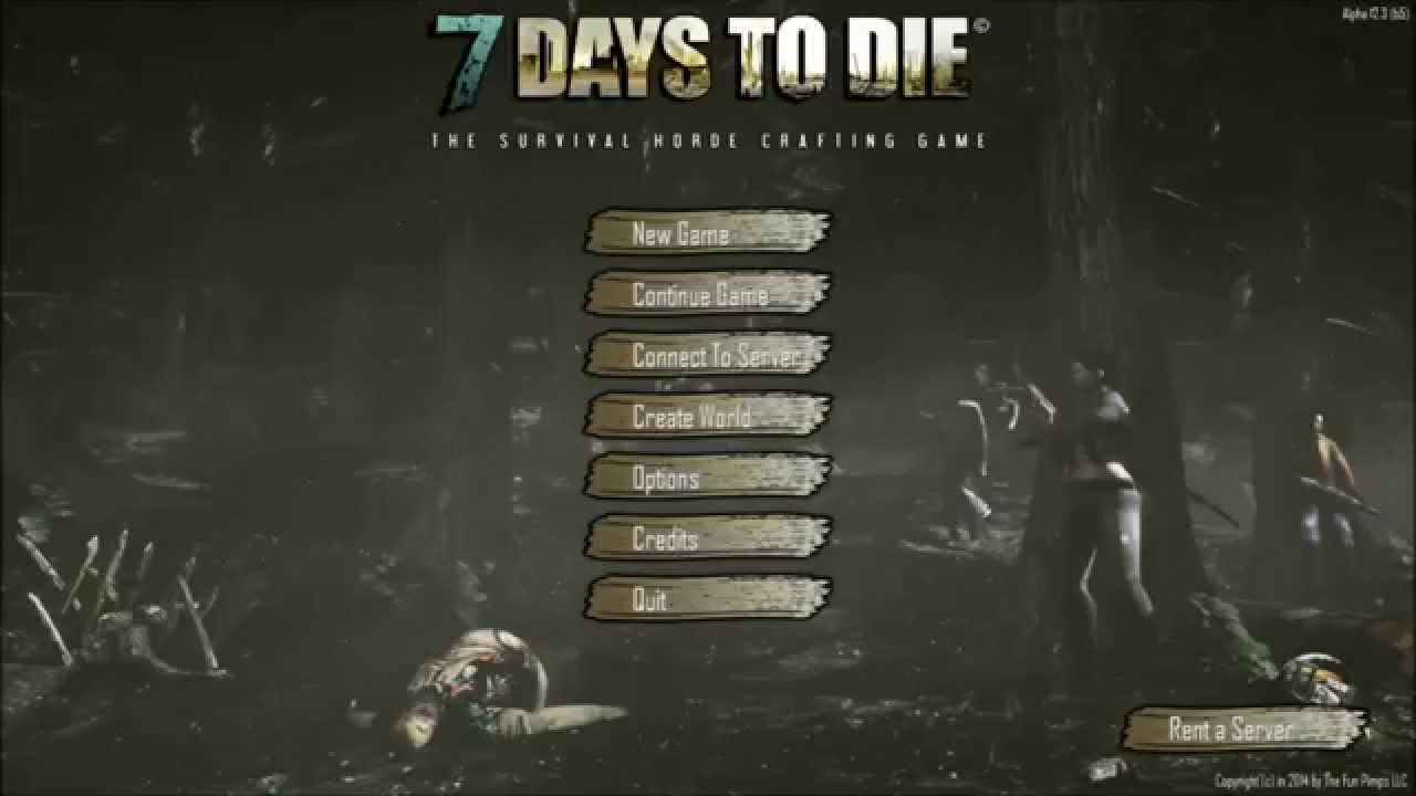 how to rest in 7 days to die