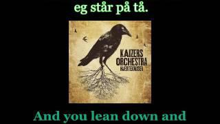 Kaizers Orchestra - Hjerteknuser - Lyrics / English translation (JamesNwobhm) Traducida