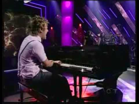 Theo Tams - Canadian Idol Top 20 - Collide - encore performance
