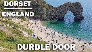 A Walk Up To Durdle Door Beach Dorset England on the Jurassic Coast