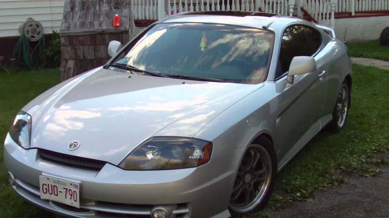 My 2003 Tiburon GT V6 Tuscani   YouTube