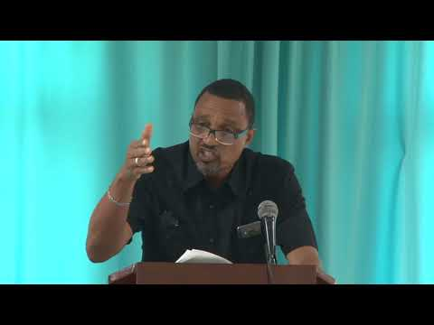 Gerald Perreira - Caribbean First Peace Conference