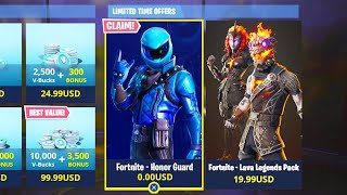 How To Get FREE HONOR GUARD Skin in Fortnite..